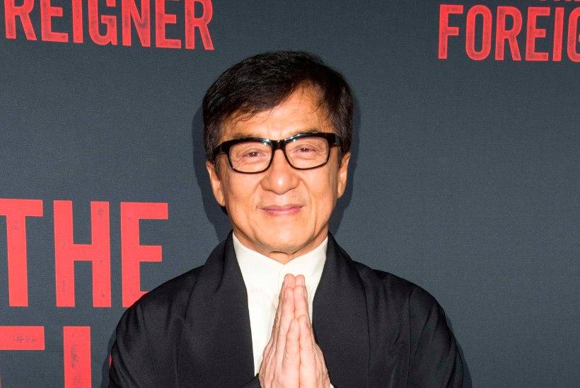 Madinatäht Jackie Chani teismeline tütar tuli kapist välja