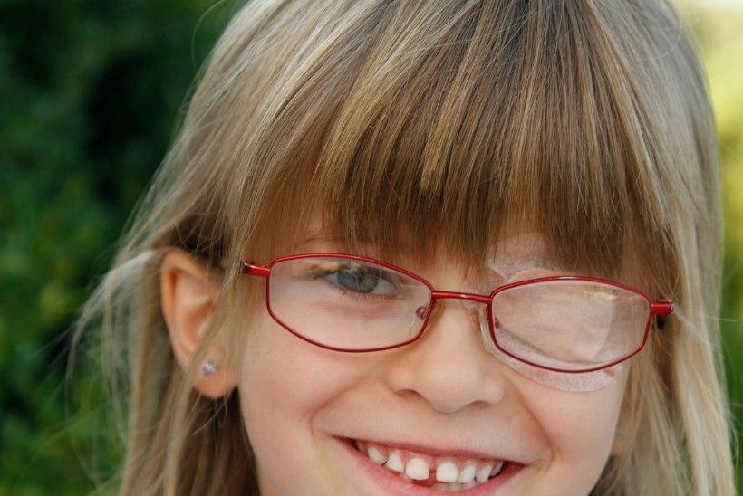 LEVINUD NÄGEMISHÄIRE: eelkooliealisi lapsi kipub kimbutama laisk silm
