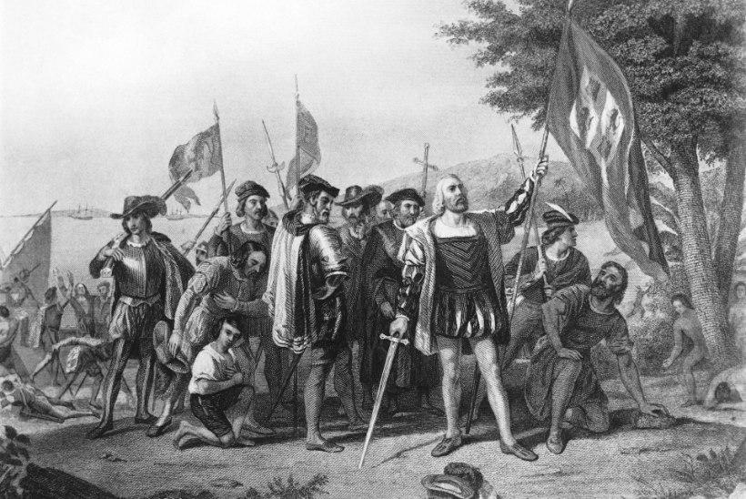 12. oktoober aastal 1492: valge mees avastas Ameerika