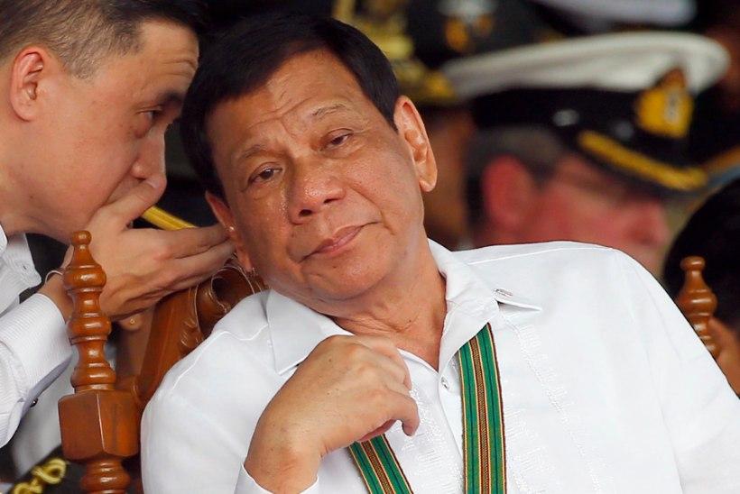 Duterte kõrvaldas politsei narkovastase tegevuse juhtimisest