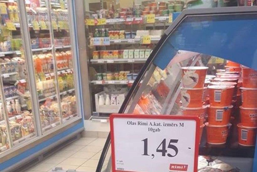 FOTO | Lätis müüdi ussidega mune