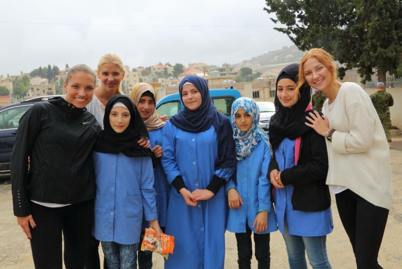 FOTOD | La La Ladies käis Liibanonis esinemas: kõige rohkem jäid meelde kohalikud koolilapsed, keda külastasime