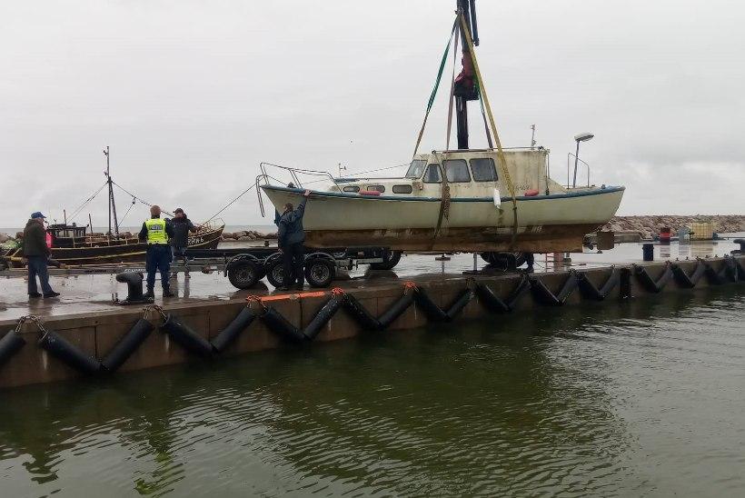 Muuga lahel leiti mootorpaat kahe hukkunud Soome mehega