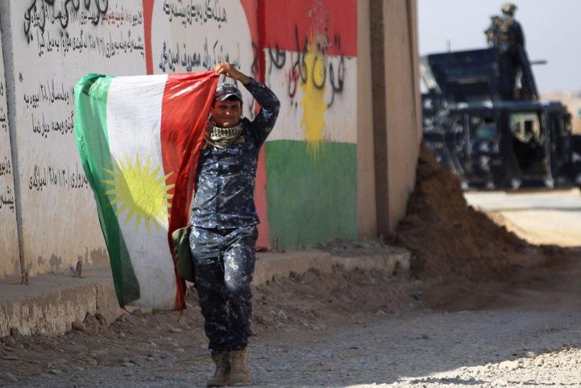 Iraagi väed piiravad iseseisvust igatsevate kurdide linna
