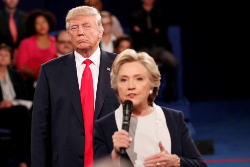 KORDUSMATŠ: Trump tahab, et Hillary Clinton 2020. aastal uuesti kandideeriks