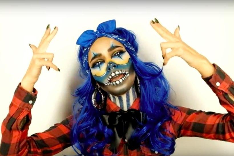 VIDEO | Meigikunstnik Liisa Leetma muundub ägedas videos gängster-klouniks