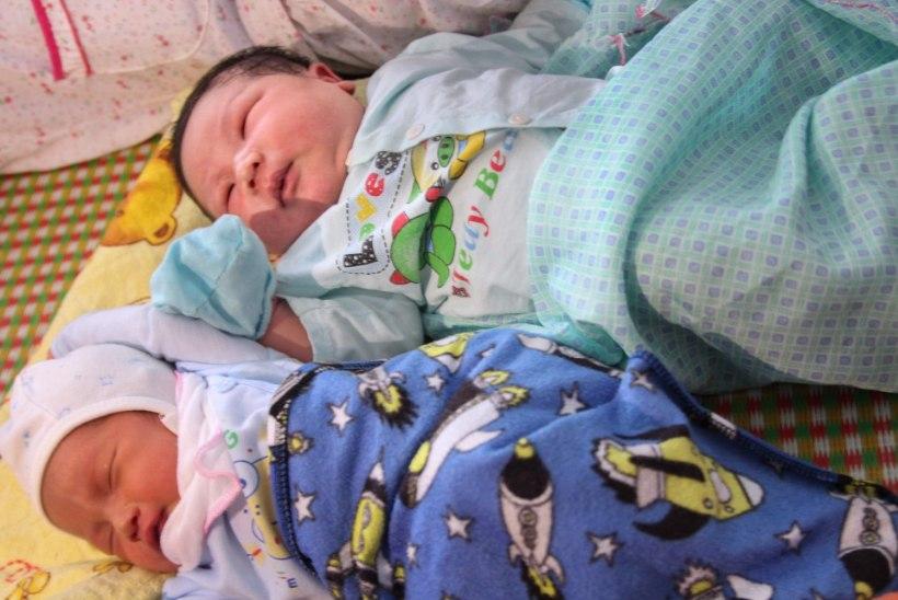 Vietnamlanna sünnitas 7,1-kilose poisipõnni