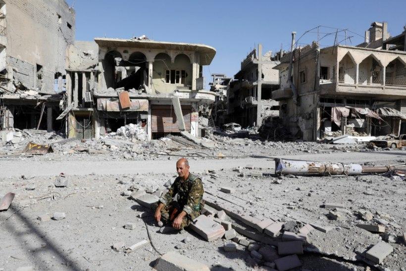 RAQQA PÕGENIKUD: kas süütute linnaelanikega koos pääsesid ka kõrilõikajad ISISest?