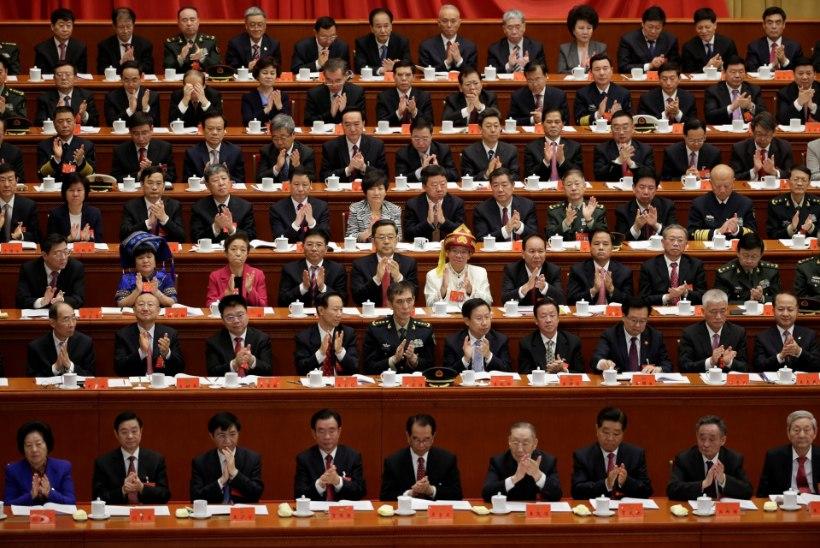 FOTOD   Poliitiline suursündmus Hiinas - algas kompartei kongress