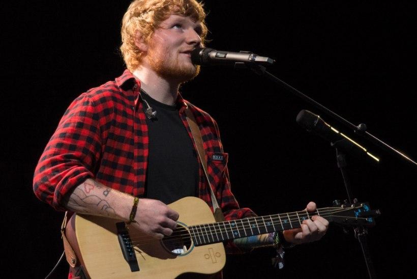 Ed Sheeran jätab murtud käeluu pärast lähiaja kontserdid ära