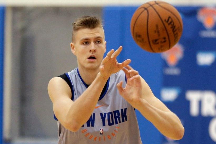 Läti NBA tähe uus salarelv: isiklik füsioterapeut, kes teda igapäevaselt aitab