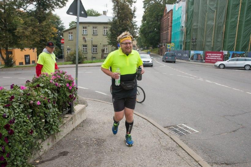 Contra jooksis jutiga 165 kilomeetrit ja joob täna üle kahe aasta esimese õlle
