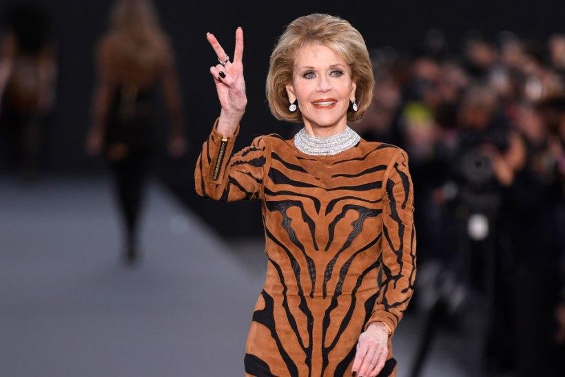 Filmilegendid Mirren ja Fonda tegid moepüünel modellitööd