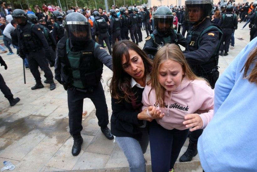 Trotslikud katalaanid: okupatsioonisõdurid kasigu siit välja!