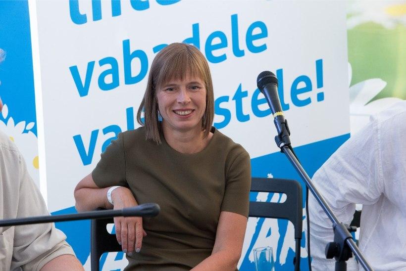 UURING: rahva toetus Kaljulaidile on suur