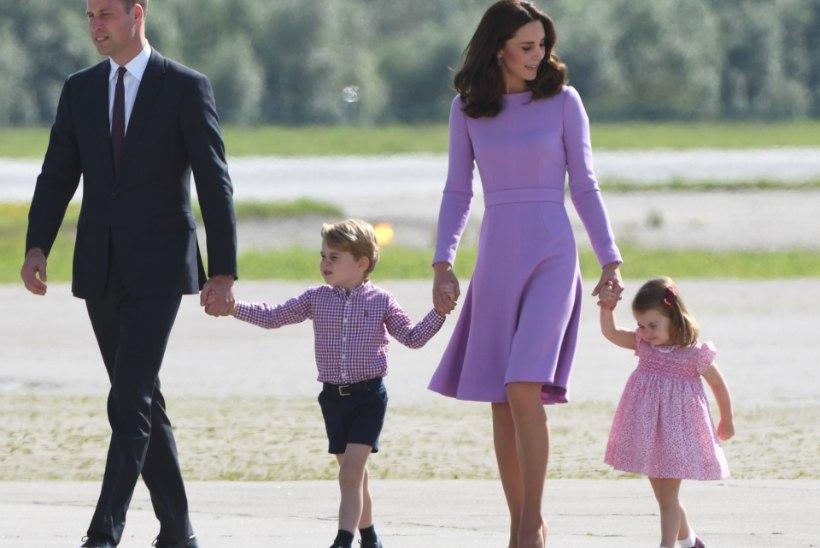 Miks printsess Charlotte'i tulevased lapsed kuninglikku tiitlit ei päri