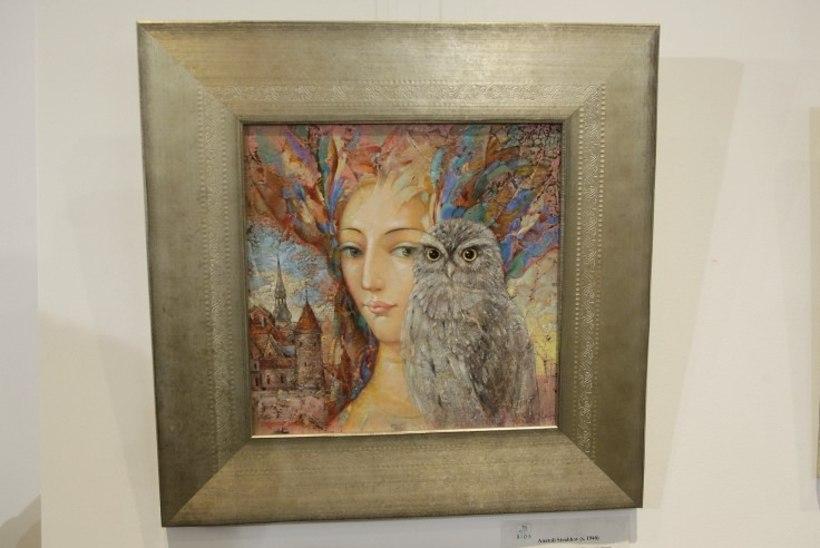 PILDID | Ivi Eenmaa ostis sügiseselt kunstinäituselt imekauni maali