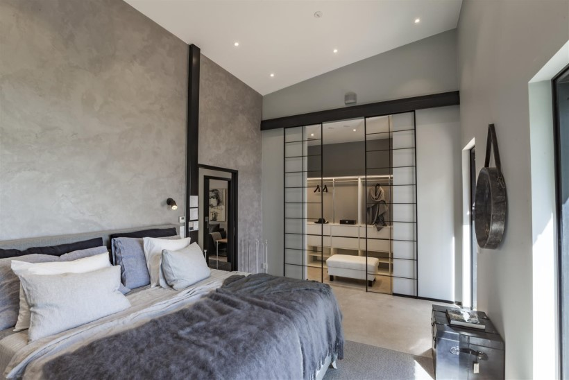 Läbimõeldud sisustusega magamistuba tagab hea ööune