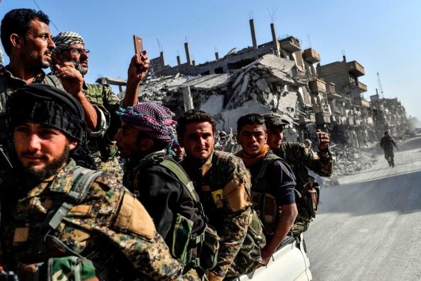 Liitlasväed vallutasid Süüria suurima naftavälja