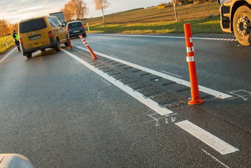 Liiklusohutust tagavad teepiirded tekitavad ummikuid