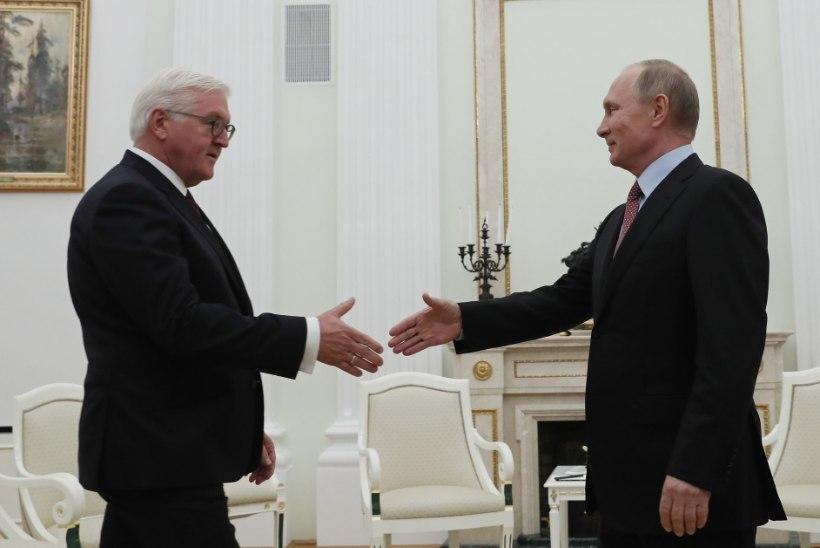 FOTOUUDIS   Putin kohtus Moskvas Steinmeieriga
