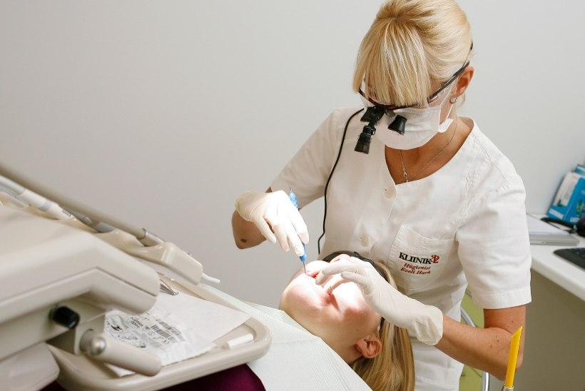 STATISTIKA: Eesti inimesed kasutavad ortodondi ja suuhügienisti teenuseid üha usinamalt
