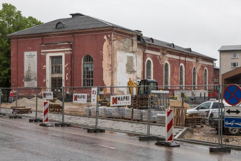 Minister Saar keeldus toetamast Tartu kiriku taastamist