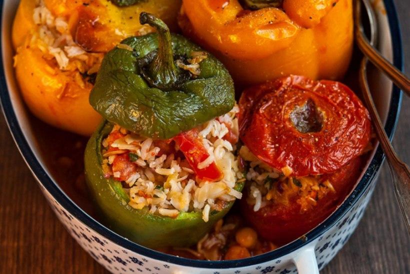 Täidetud paprikad ja tomatid