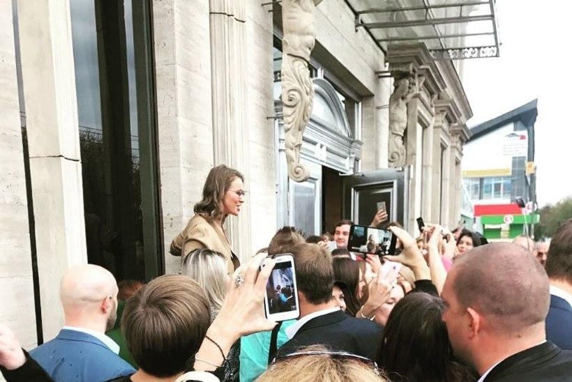 Sobtšak alustas valimiskampaaniaga ning avalikustas oma hüüdlause