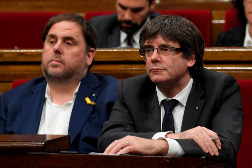 Kataloonia kriis süveneb: Puigdemont ei kuuluta välja ei vabariiki ega valimisi