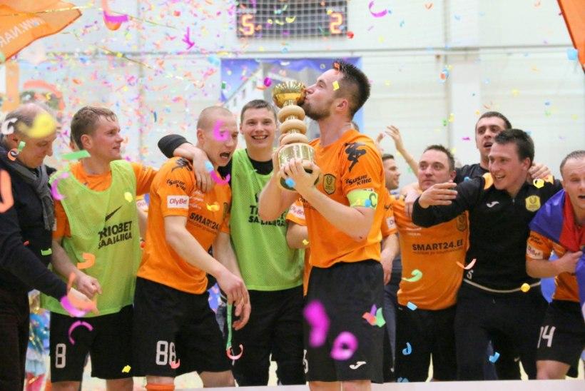 JÄRELVAADATAV | Saalijalgpalli hooaeg algas heategevusliku superkarikafinaaliga