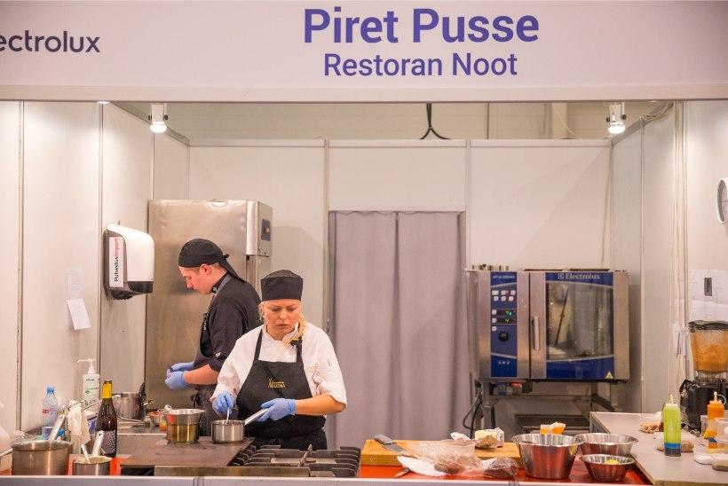 Aasta parim kokk on Piret Pusse