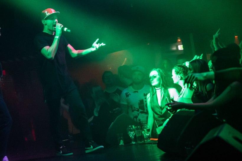 GALERII | Räpistaar Nelly andis intiimse kontserdi ja tänas fänne