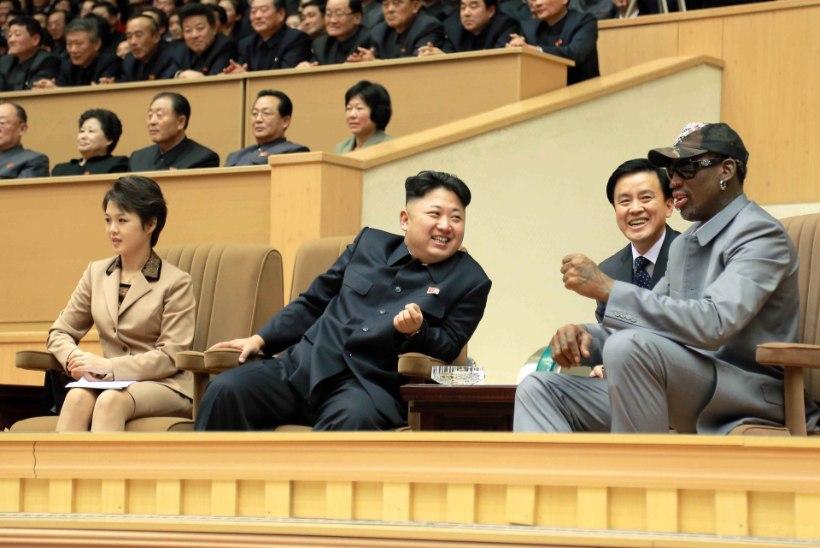 Dennis Rodman – Donald Trumpi ja Kim Jong-uni ainus ühine sõber