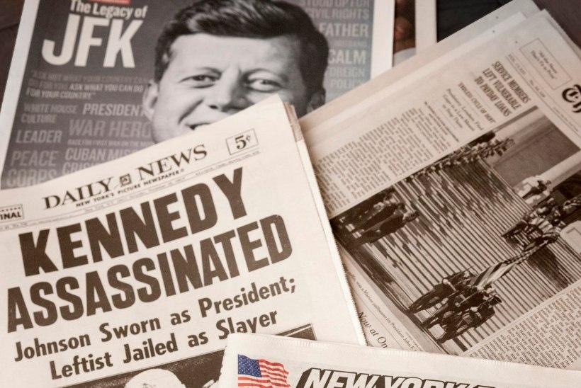 Kes andis väikesele Briti lehele vihje Kennedy mõrvast?