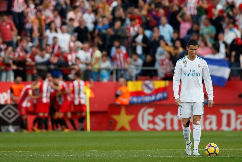 GALERII | Kataloonia väikeklubi uhke võit tõi Madridi Reali õuele musta masenduse