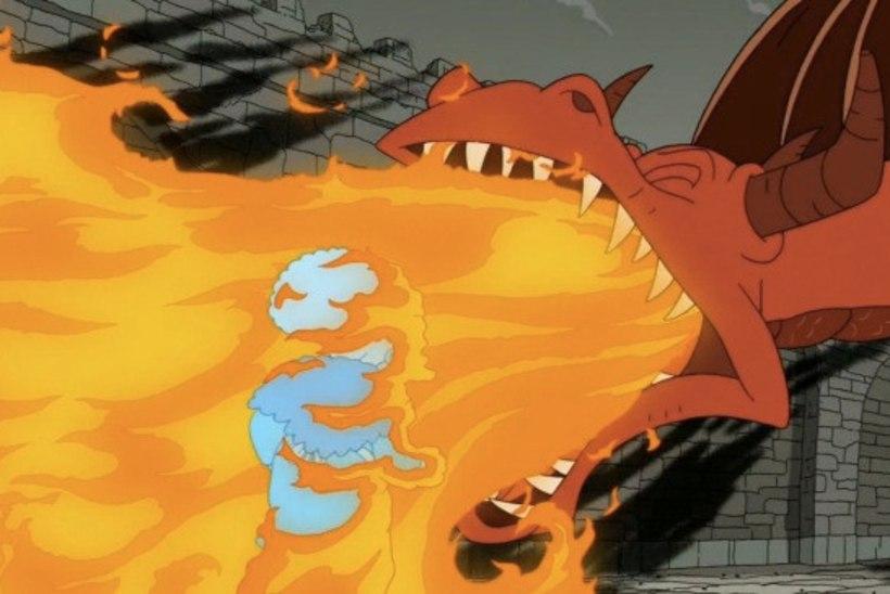 """""""Simpsonite"""" uue hooaja avaosas seigeldi """"Troonide mängu"""" maailmas"""