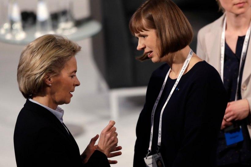 GALERII | KERSTI KALJULAID: aasta esimese naispresidendina