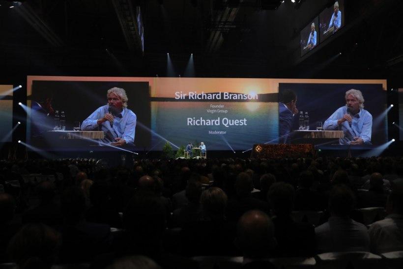 PILDID | Sir Richard Branson: Põhjamaades elavad inimesed peaks olema õnnelikud
