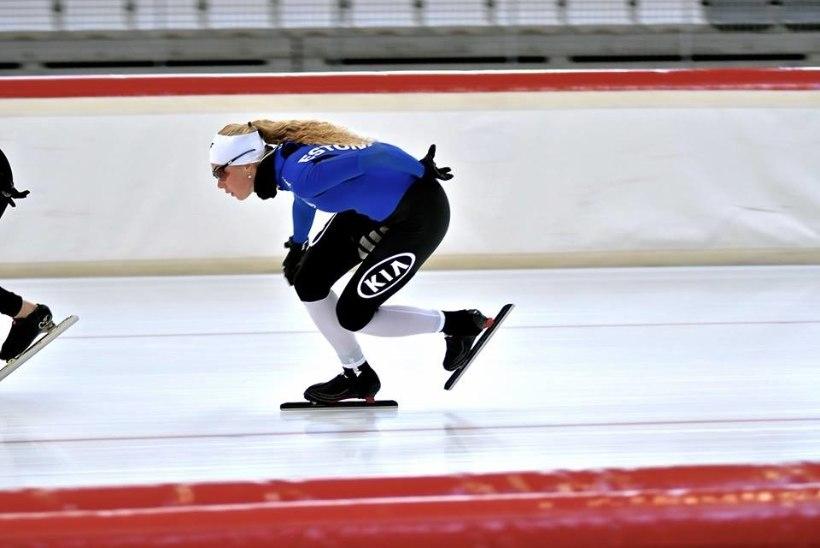 Pyeongchangi piletit ihkav Saskia Alusalu harjutab koos olümpiamedalivõitjatega
