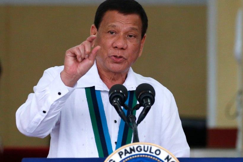 Duterte lubas kohtumisel Akihitoga oma mahlakat kõnepruuki jälgida
