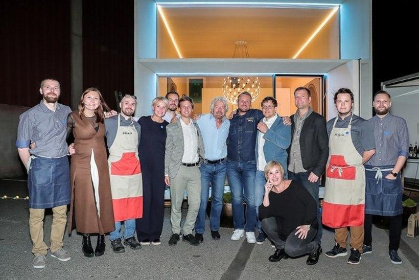 EAS kostitas Richard Bransonit 5500-eurose õhtusöögiga