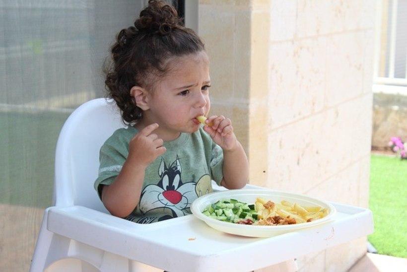 Pane näljasele lapsele rohelised köögiviljad lauale!