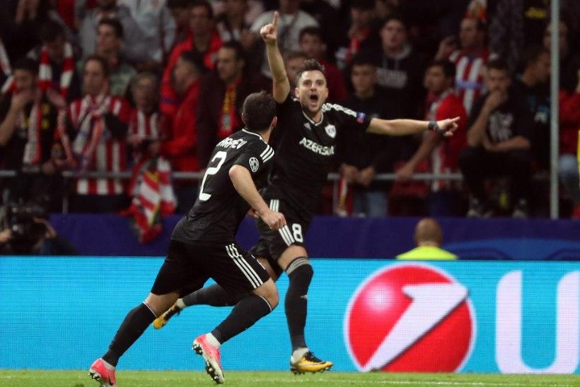 Roma purustas Chelsea, Qarabag naaseb Madridist viigipunktiga