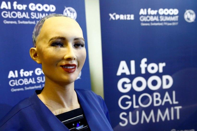 Saudi Araabia andis naisrobotile kodakonsuse