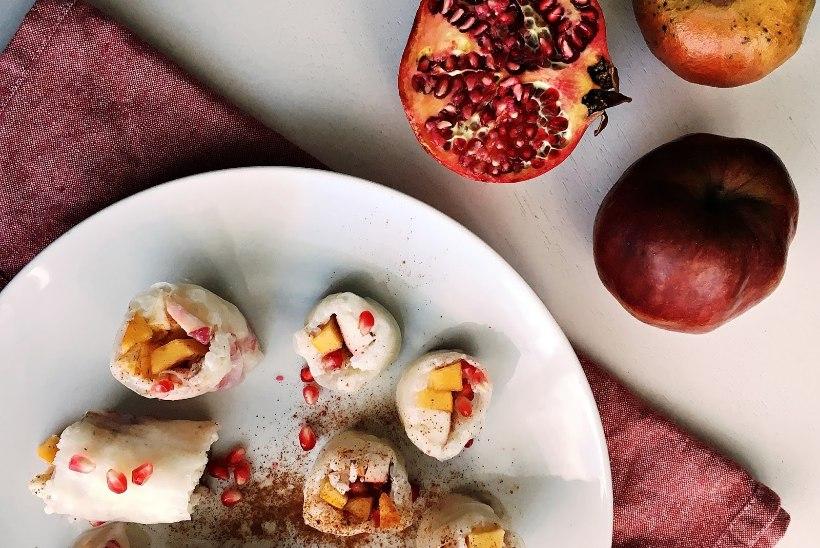 Snäkisoovitus: sügiseste puuviljadega magusad kevadrullid