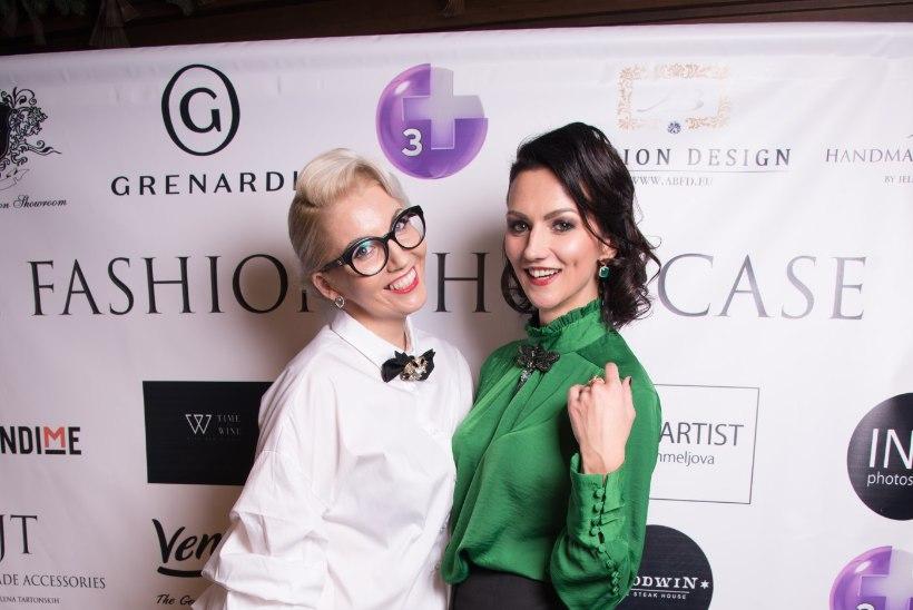 PILDID | Moekad inimesed übermoekal peoõhtul Autumn Fashion Showcase