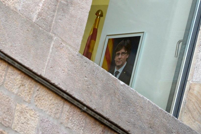 Carles Puigdemont on sõitnud Belgiasse