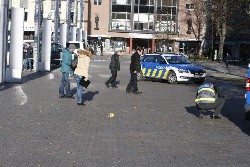 PEALTNÄGIJA VIDEO | Vaata, kuidas politsei peatas noarünnaku teinud mehe!