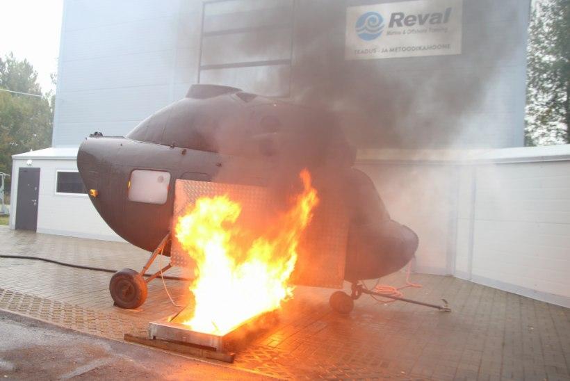 Revali merekoolis valmis järjekordne helikopterisimulaator